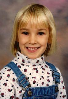 Another of Josie's firsts: Kindergarten