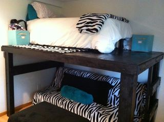 Zebra bed