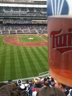 Twins beer